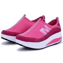 2013 network shoes gauze female sports shoes light breathable sport shoes running shoes for woman