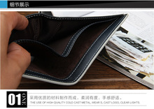 2015 New Arrivals Famous Brand Designer Mens s Wallets High Quality Linen Short Mini Styles With