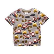 Buy 2017 Fashion Boys Girls Summer T Shirt Kids T-shirt Short Sleeve Cotton Children Summer Clothing Kids Tops Age 1-6 Years for $6.87 in AliExpress store