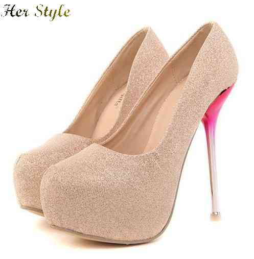 Seven colors Free Shipping 2014 ladies high heels do 35 to 42 code 823 1429430236(China (Mainland))