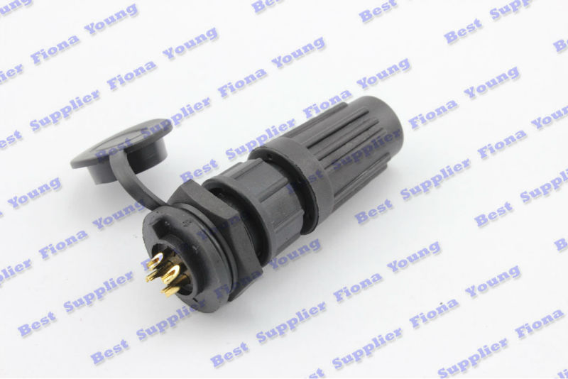 50 pcs\lot Wholesale Waterproof Electrical XLR Aviation Connector 4 Pin 12mm Chassis Mount Free Shipping<br><br>Aliexpress