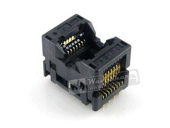 SOP16 SO16 SOIC16 OTS-16-1.27-04  Enplas IC Test Burn-In Socket Programming Adapter 7.5mm Width 1.27mm Pitch