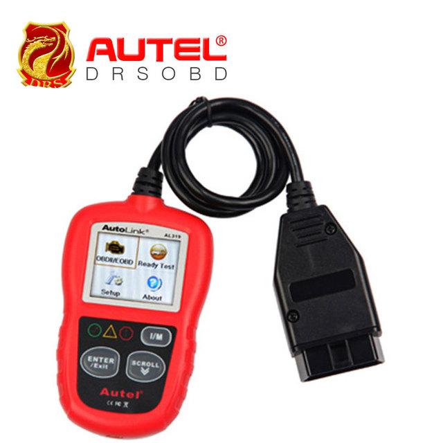 [Autel Distributor] Professional Auto diagnostic Code reader Autel AutoLink AL319 Cheapest AUTO Reads live PCM data stream