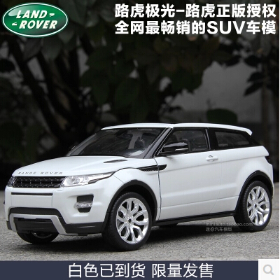 Range Rover Evoque 1:24 welly FX High quality alloy car model simulation luxury SUV Collection GIFT Toy Defender couple(China (Mainland))