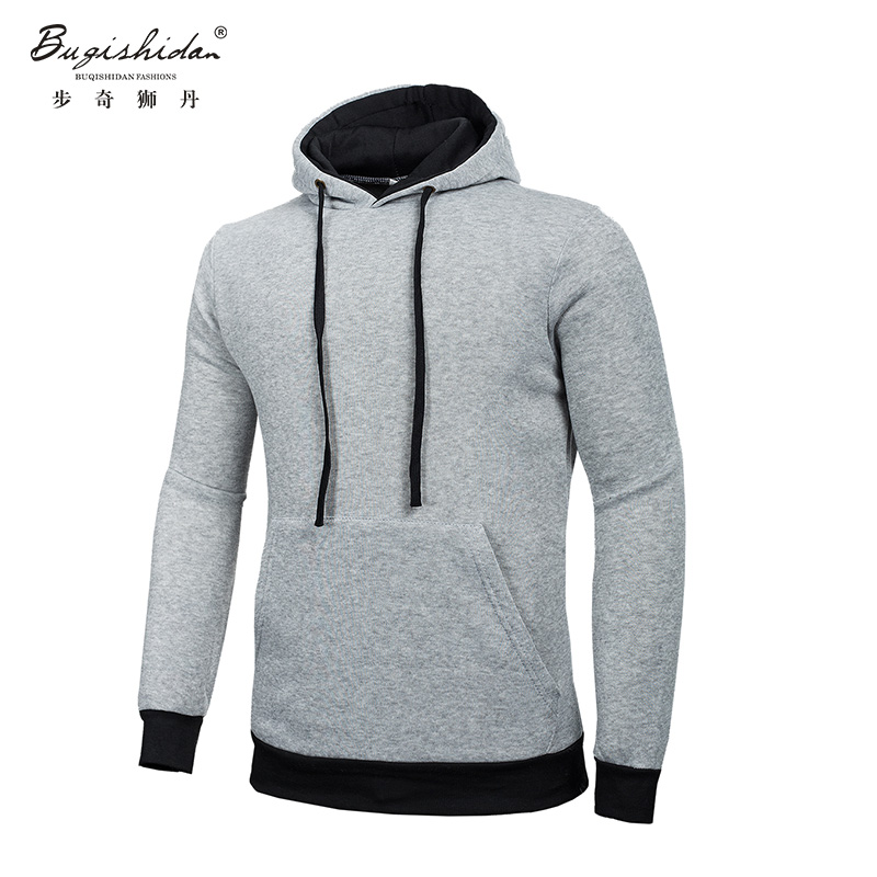 Spring Fashion New Arrival Color Hoodies Sweatshirts Men Outerwear Colorful Hoodies Clothing Men Sports Suit 5 Colors(China (Mainland))