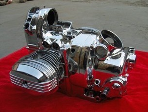 750cc 32hp Air Cooled Firm Coated Gas Engine for Motorcycle Sidecar