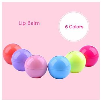 Новинка 6 цвет бальзам для губ круглый природные органические украсьте губы бальзам гигиеническая помада для губ бальзам для губ помада в рот