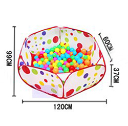 120cm Kids Play Game House tent Pool Children Tent Ocean Ball Pool baby educational Toys Outdoor Fun & Sports Lawn Tent(China (Mainland))