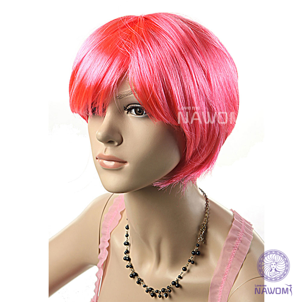 Pink Wigs Halloween Costume Wig Pink Party Halloween