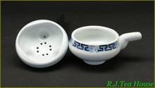 Tea Strainer Hengfu Blue White Hand Paint Porcelain Tea Strainer Set