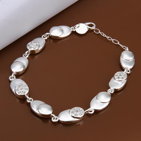 wholesale 925 sterling silver bracelet 925 silver fashion