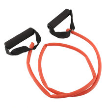 Resistance Band Slim Stretch Fitness Muscle Exercise Latex Tube For Workout Free shipping