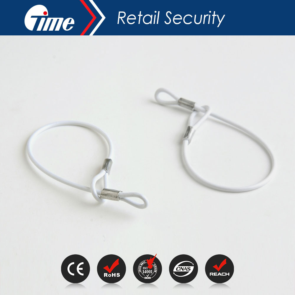 LD3602 Security EAS Tag's Removable Lanyard Wire Cable for Anti-Theft Tag(China (Mainland))