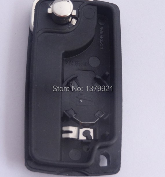 3button remote key shell for Fits to Citroen C4 Picasso C5 C6 Light Symbol 3 button