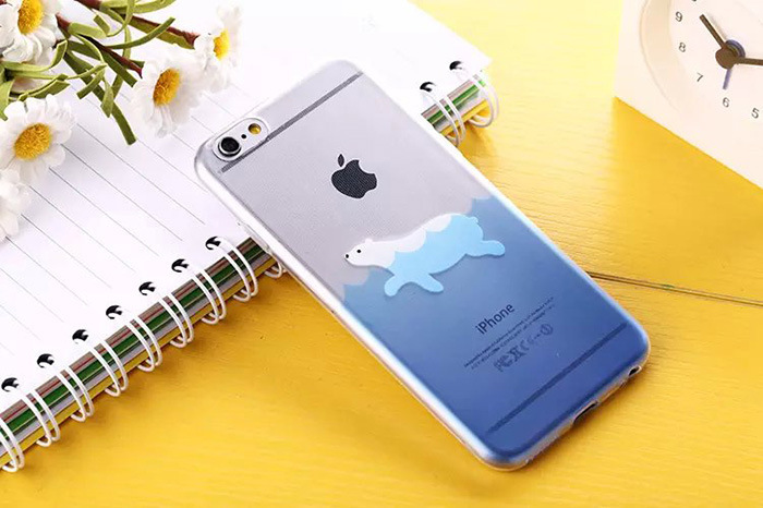5.5 inch Phone Cases for iPhone 6 6plus Case Japan ocean animal series Cover mobile phone bags & cases Brand New Arrive 2015(China (Mainland))
