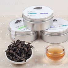China Famous Wuyi Mountain Cliff  Oolong Tea Set,Da Hong Pao,ShuiXian,Qi Lan,Sample pack,120g Free Shipping