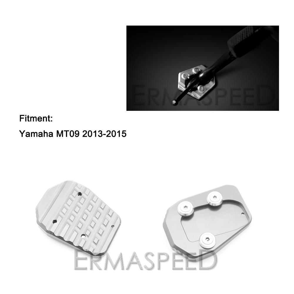 YAMAHA MT09 side stand enlarge (1)