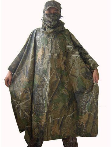 New Camouflage raincoat Fashion Raincoat Outdoor sports Camping Bionic camouflage raincoat Z03(China (Mainland))