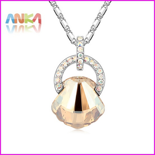 2015 Rushed Jewelry Pendant Collar New Arrived 18k Gp Made With Swarovski Elements Crystal Necklace #96757(China (Mainland))