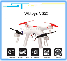 2014 New WLtoys V353 Galaxy Headless Mode 2.4G 4CH 6 Axis Gyro RC Quadcopter VS Drone Walkera X350 pro DJI Phantom 2 vi Toy kids