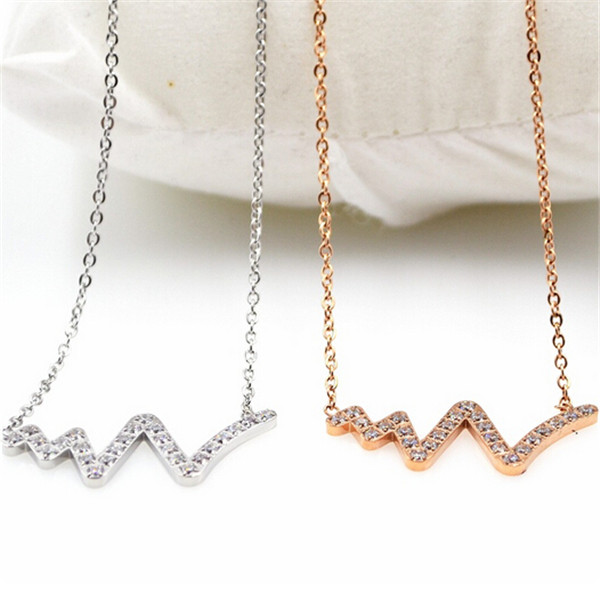 Rose gold plated stainless steel crystal snake necklace women,fashion best friends gift pendant necklace cristal jewelry collar(China (Mainland))