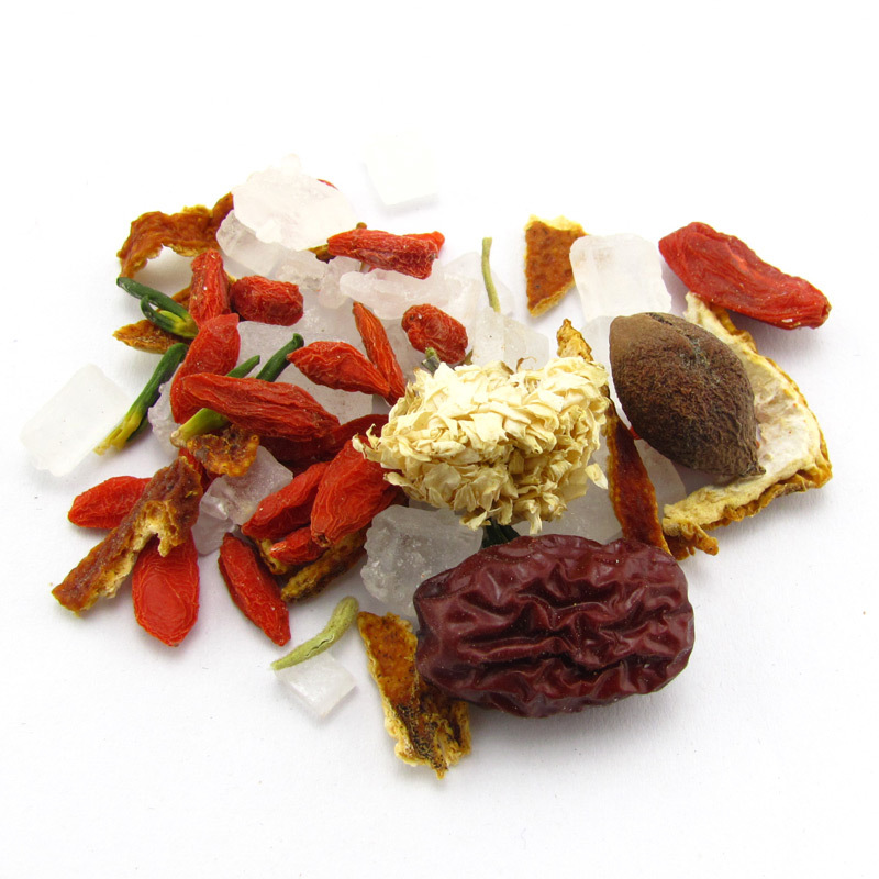Гаджет  Assorted Chinese Herbal Tea Ba Bao Cha Eight Treasure Tea Three Brewing Tea Mixed Tea T127 None Еда