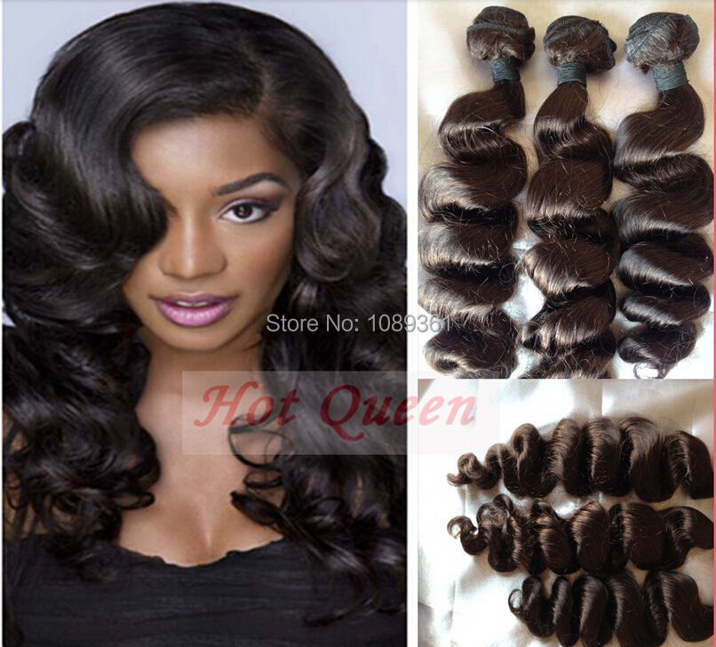 Free Shipping 3Pcs/Set Certified Dark Brown Remy Human Hair Weave European Virgin Loose Wave Machine Hair Wefts 10-30 In Stock<br><br>Aliexpress