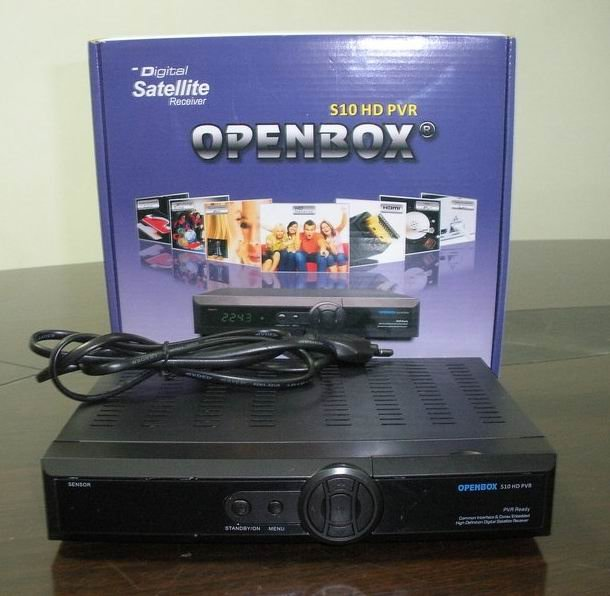 Promotional, Christmas,2011 HD Satellite TV receiver openbox S10 new arrival!! Openbox S9 latest version sharing cccamd newcamd(China (Mainland))