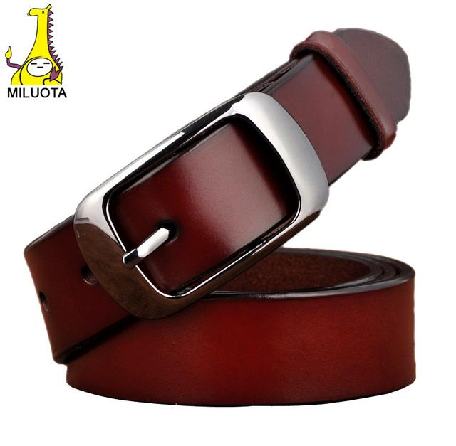[ Miluota ] 2016 известная марка пояс женщин cinturones mujer натуральная кожа пояса ...