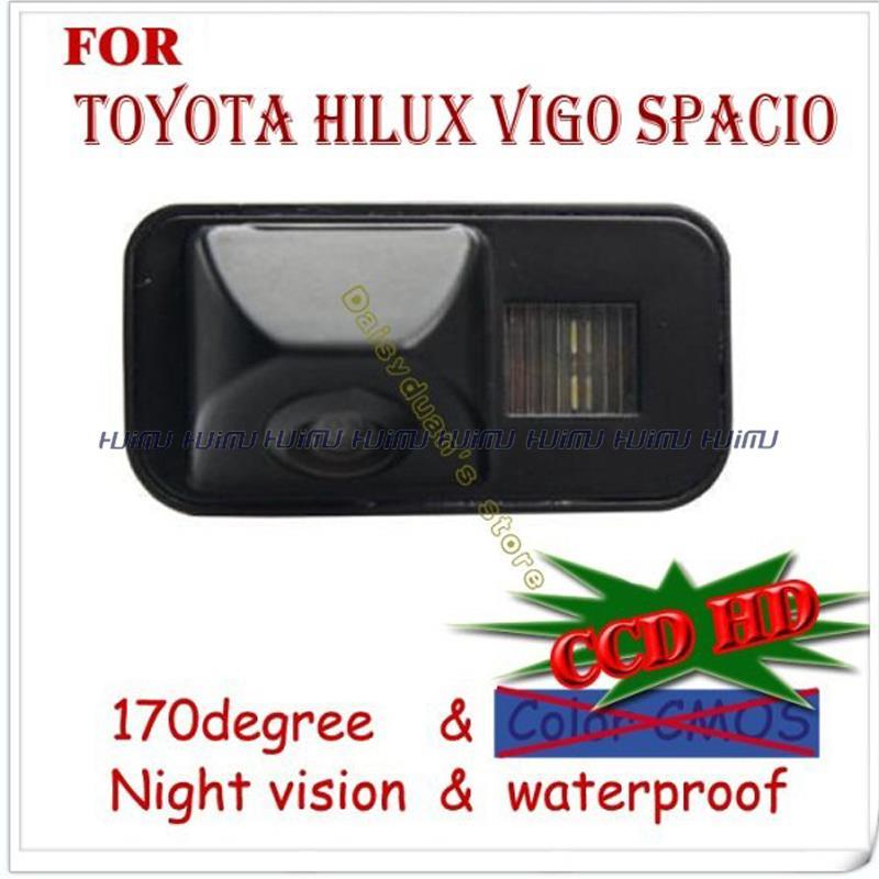wire wireless HD car Rear View reverse camera for SONY CCD TOYOTA Tarago/Previa/Wish/Alphard HILUX VIGO Spacio parking assist(China (Mainland))