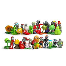 Buy 30pcs/lot Plants vs Zombies PVZ Plant Zombies PVC Action Figures Toy Collection Model Toys Dolls Gifts Home Decoration for $35.33 in AliExpress store