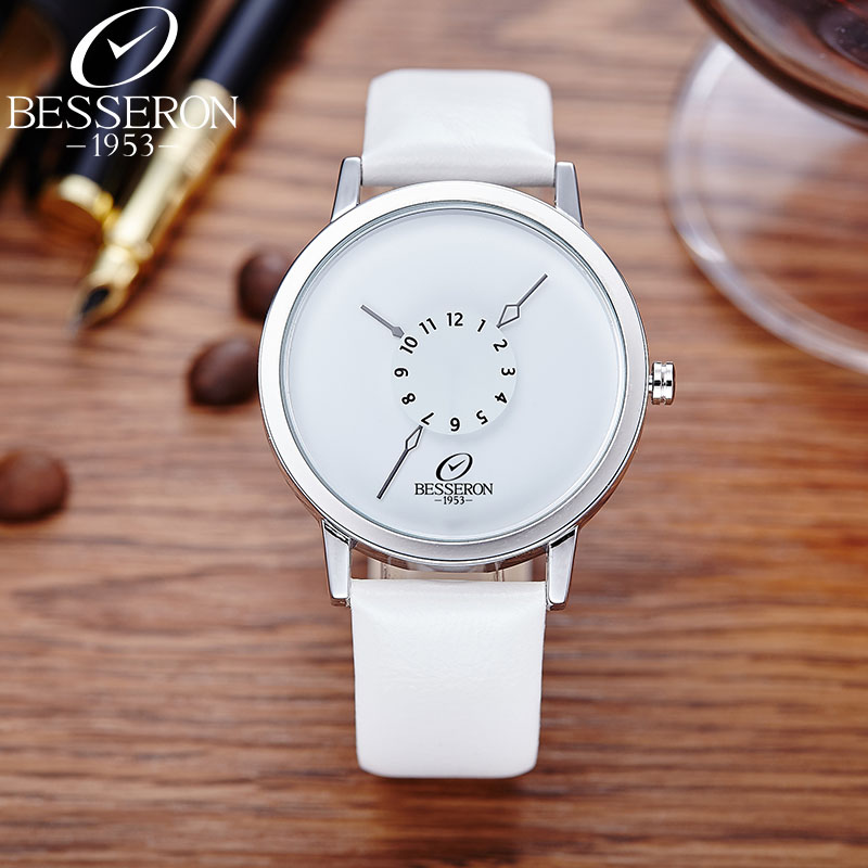 Watches Women Ladies Luxury Men's Quartz Watch Bracelet Wrist Watch for Woman Waterproof Leather Strap Horloges Vrouwen(China (Mainland))