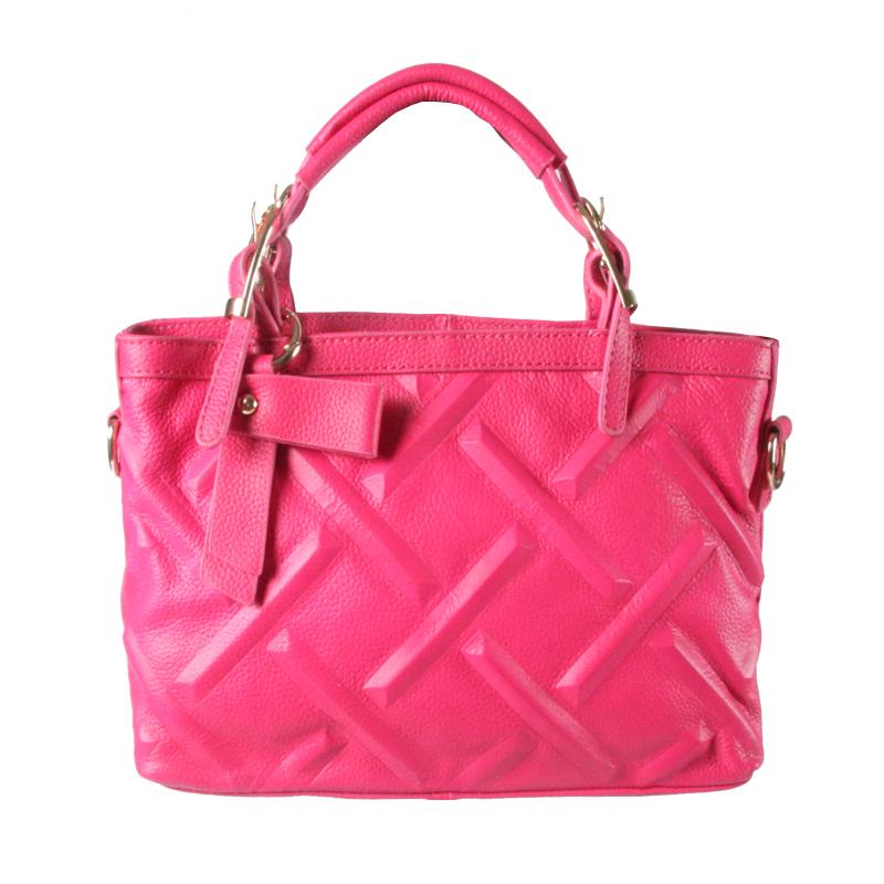 Vintage Women Bag Female Handbags Women Medium Big Tote Bags Embossing Shoulder Genuine Leather Ladies Cheap Large Working Bag(China (Mainland))