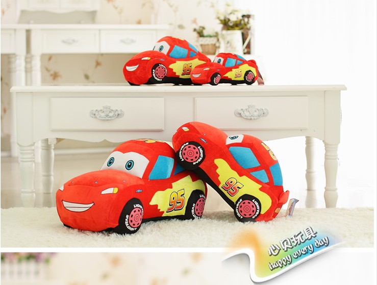 55cm 1PCS Movie Cars Pixar Original Plush Toys Cars Model Stuffed Plush Toy Reborn Baby Favorite Car Toy free shipping(China (Mainland))