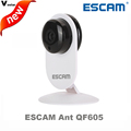 ESCAM Ant QF605 3 6mm Lens mini wireless ip camera support WIFI ONVIF two way audio