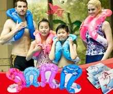 Superelastic надувной взрослые рука плавает лето бассейн плавать дети рука кольцо плавание тренер