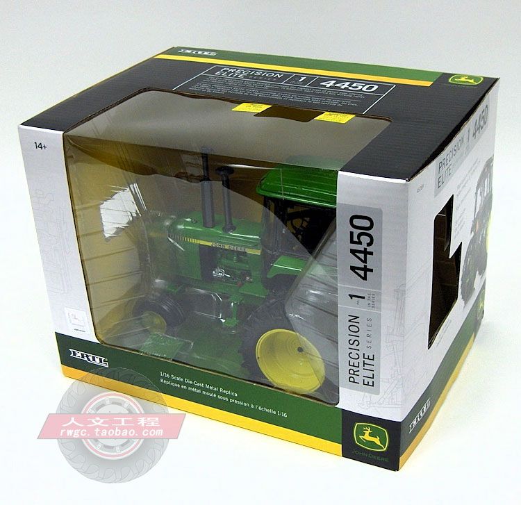 KNL HOBBY J Deere 4450 farm tractor alloy automobile fashions US ERTL 1:16 Gold Items