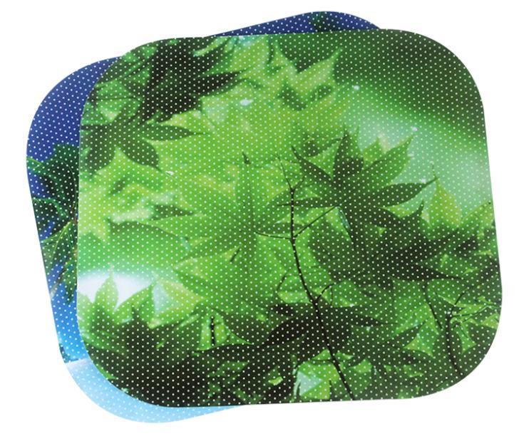 1 pair Summer Solar Protection Car Sunscreen Car Sunshade Electrostatic Stickers Auto Supplies Window Foils Sun-shading Stickers(China (Mainland))