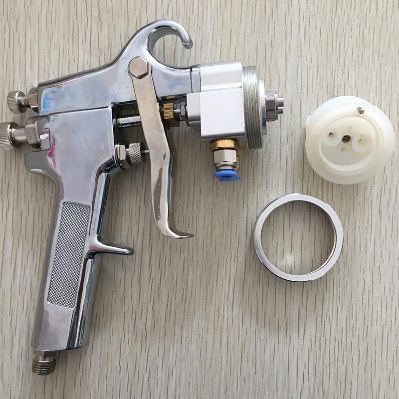 SAT1182 Professional High Quality Mirror Chrome Paint Adjustable Air Pressure Regulator Spray Gun Spray Foam Gun Tools(China (Mainland))