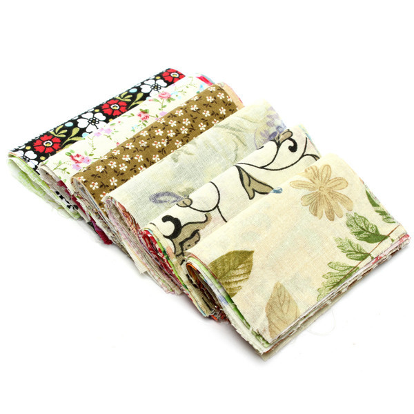 New Arrival 60pcs A Group Of Random 10x10cm DIY Handmade Cotton Cloth Quilt Textiles Lowest Price(China (Mainland))