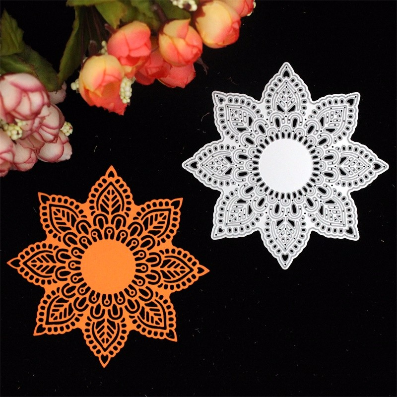 Lovely Flower Doily Metal Cutting Dies Stencils for DIY Scrapbooking/photo album Decorative Embossing DIY Paper Cards