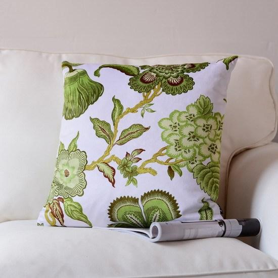 H3256 новое поступление зеленый цветочный подушки полоса подушка клетки бархат печать наволочки украсить бросить подушку домашнего декора