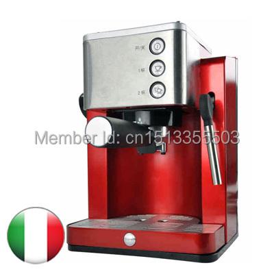 Coffee Maker,Italy Espresso Type,semi-automatic electronic coffee machine Grinding bean high pressure steam milk foam(China (Mainland))