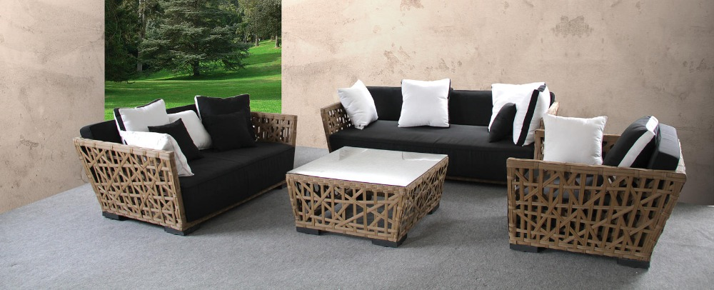 2016 New arrival sale poly rattan high garden treasures outdoor furniture(China (Mainland))