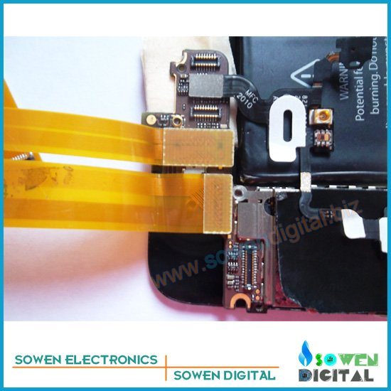 extension test cable for iphone 4 4G 4S Test LCD touch screen digitizer flex cable,Protect connector,free shipping