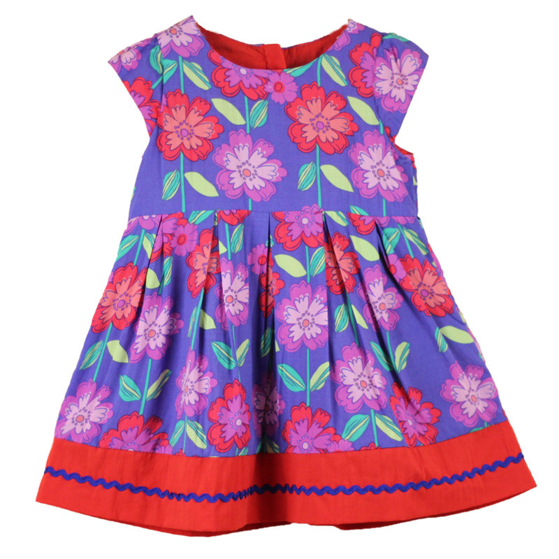 Free shipping Wholesale 5pcs/lot 2015  girl dresses baby girl dress floral children clothing girl dresses wedding<br><br>Aliexpress