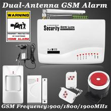 Free shipping!! New Wireless GSM Home Security Burglar Alarm System Auto Dialing Dialer SMS Call