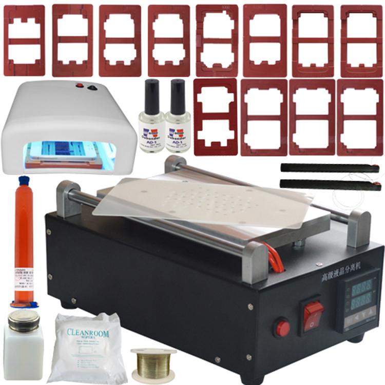 high quality Air Pump Built-In Vacuum LCD Separator Screen Separating Machine for iphone for samsung screen repair<br>