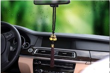 Dacia Sandero Duster Duster Trophee Andros Logan Gold Plated Double Gourd Car Pendant Amulet for Safe Driving Lucky Interior(China (Mainland))