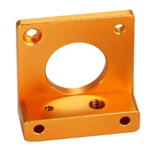 3D Printer MK8 Extruder Aluminum Block DIY Kit for Makerbot Dedicated Single Nozzle Left Hand BI091